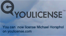 Now you can license Michael Horsphol on youlicense.com